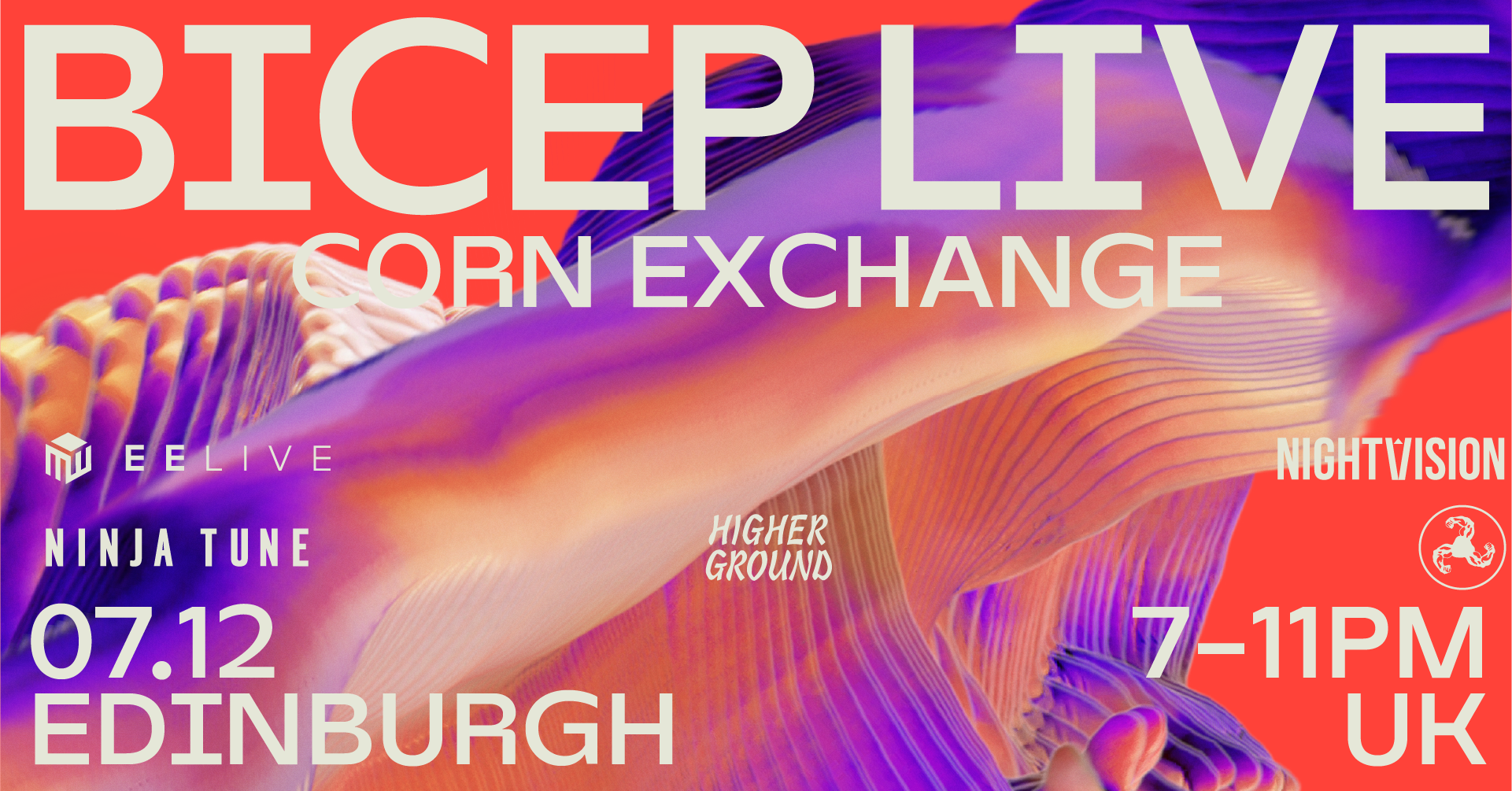 Bicep Live 7 Dec 2021 Edinburgh